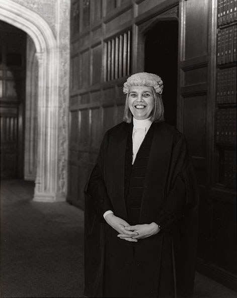'Jacqy Sharpe, Clerk of the Journals' by David Partner, 2007 ©Palace of Westminster