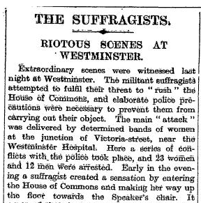The Times 14 October 1908
