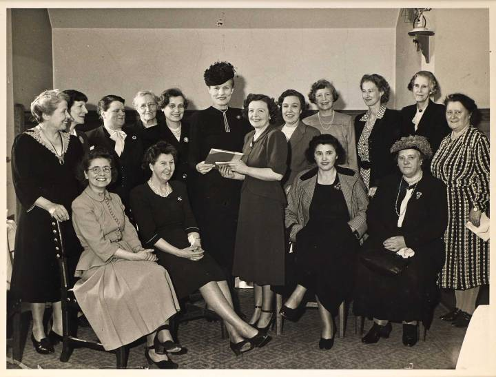 Women MPs, 1949. Parliamentary Archives, PUD/15/2/1