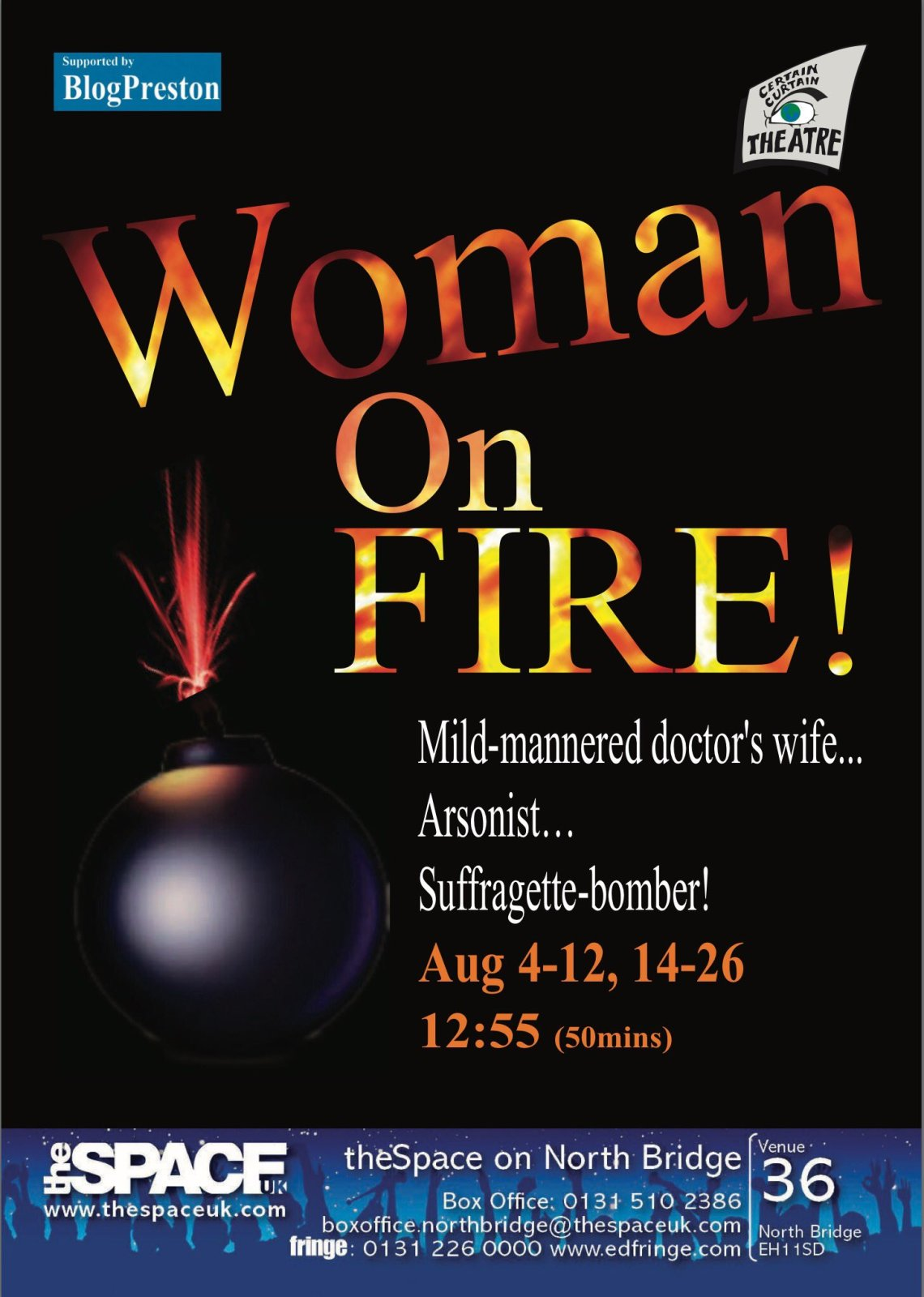 Woman On Fire poster