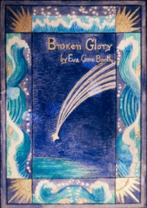 Cover of Eva Gore-Booth's book 'Broken Glory' decorated by Constance Markievicz. Photograph © William Alderson 1989