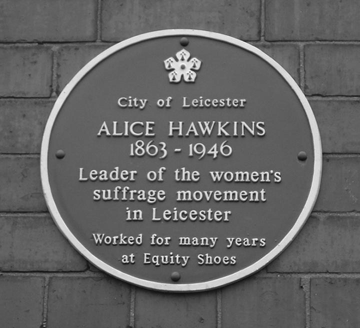 Alice Hawkins plaque crop