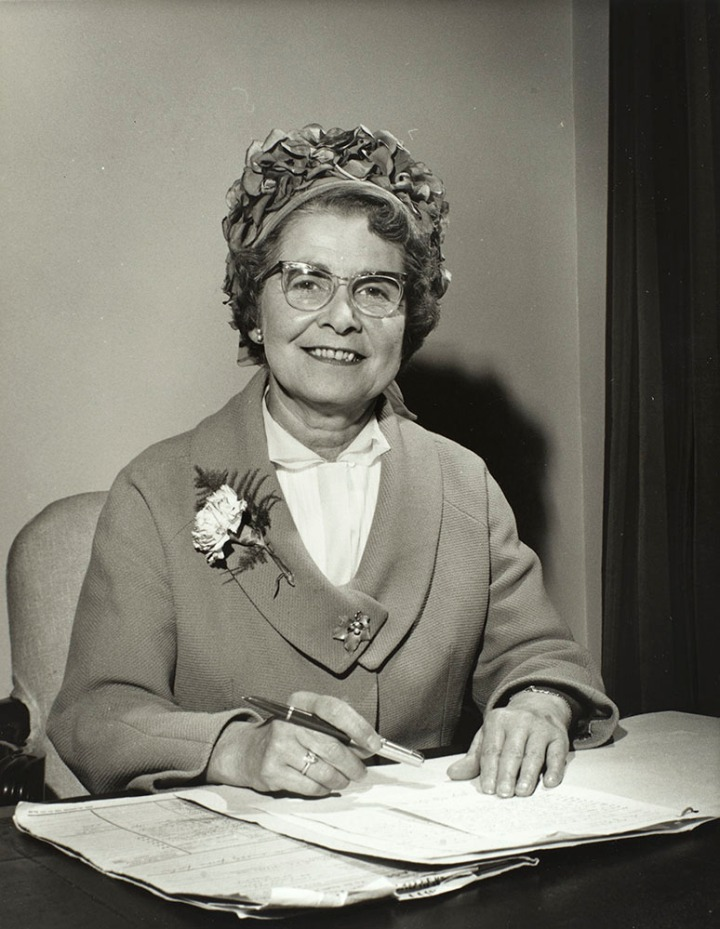 Margaret Herbison. Parliamentary Archives, PUD/14/341