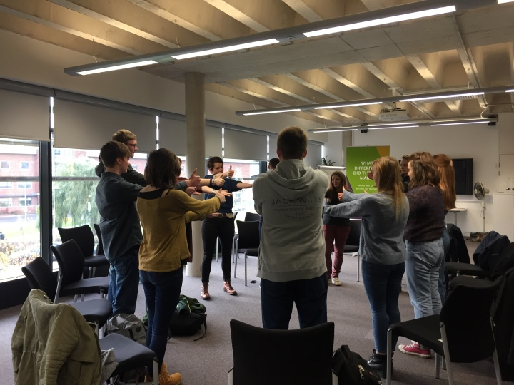 Student workshop in Lincoln