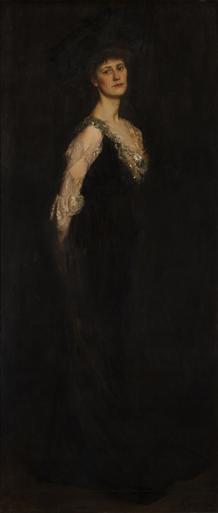 Copy of Portrait of Constance Countess Markievicz (1901) by Boleslaw von Szankowski (1873-1953), Collection Dublin City Gallery The Hugh Lane. Permission to reproduce granted by the Estate of Boleslaw von Szankowski