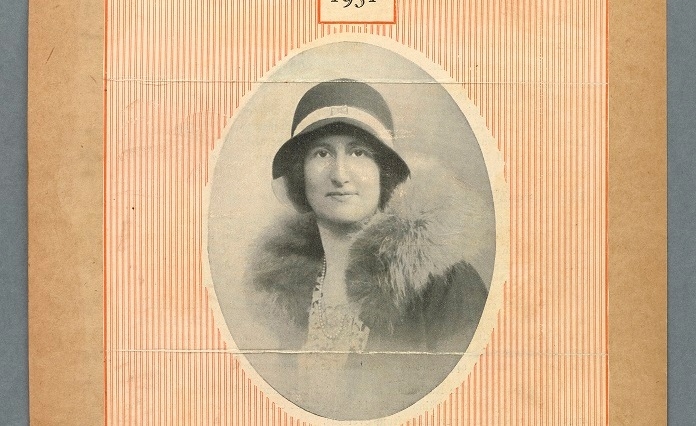 Norah Runge's election leaflet, 1931. Parliamentary Archives, RUN/1