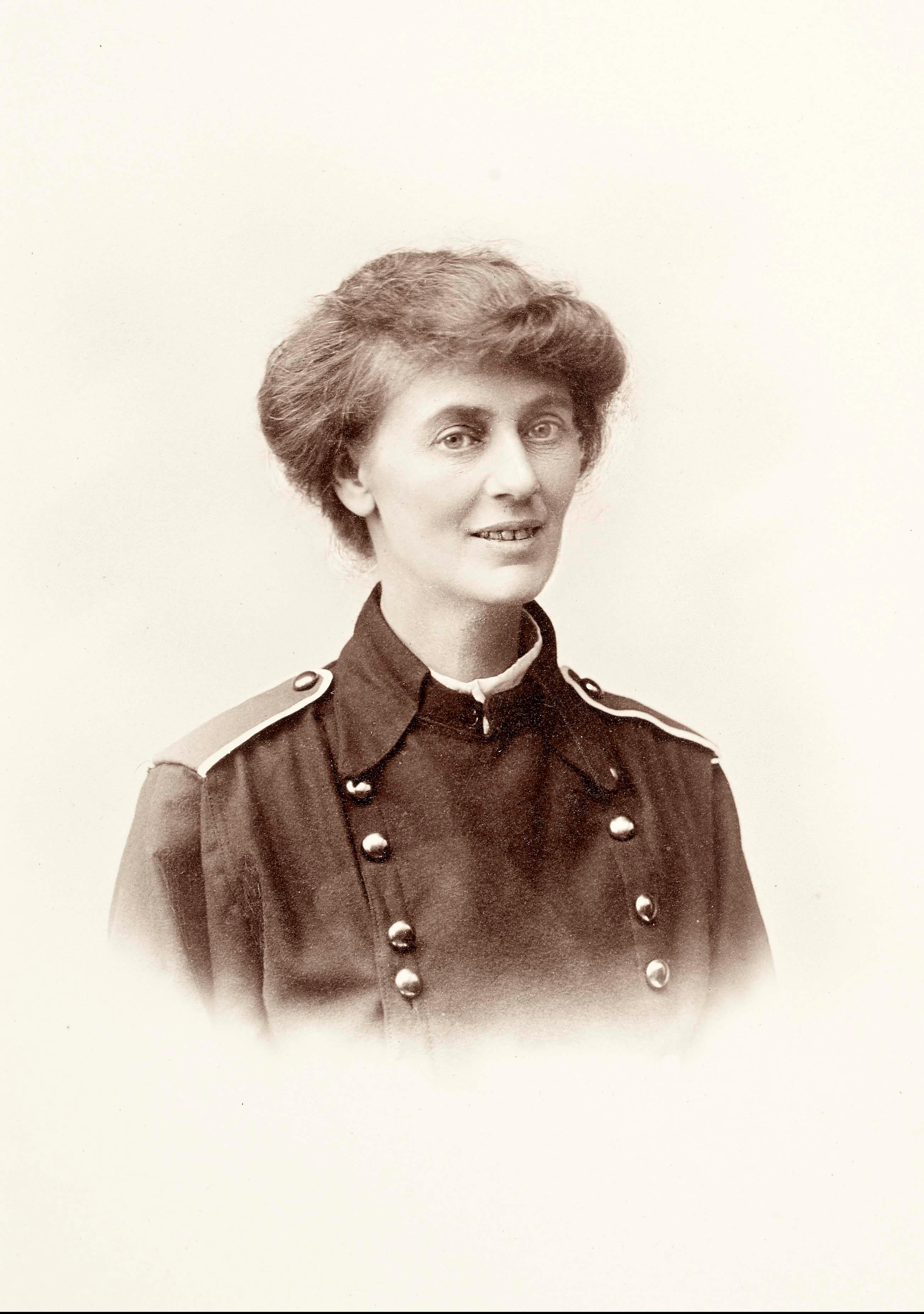 Constance Markievicz, National Library of Ireland.