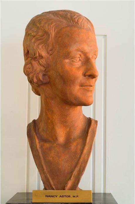 Nancy Astor bust Parliamentary Art Collection WOA S221