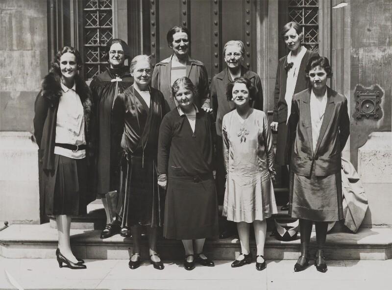 Women Labour MPs 1929, NPG x30000