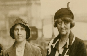 Sarah Ward and Ida Copeland