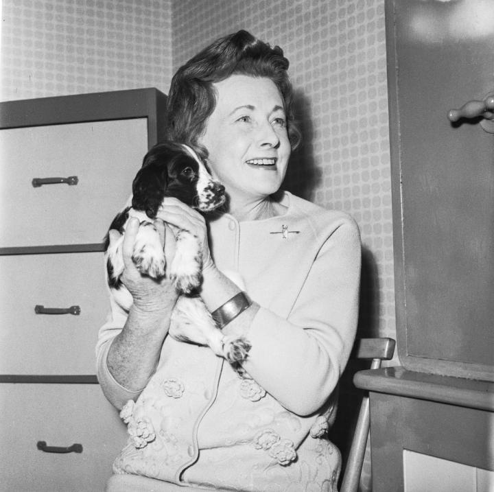 Barbara Castle. Courtesy of Blackburn Central Library, ©The W&H Talbot Archive
