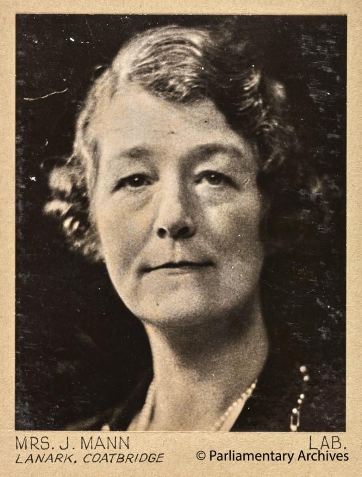 Mrs J Mann, Lanark, Coatbridge. July 1945. © Parliamentary Archives, PHO/9/1/50/3