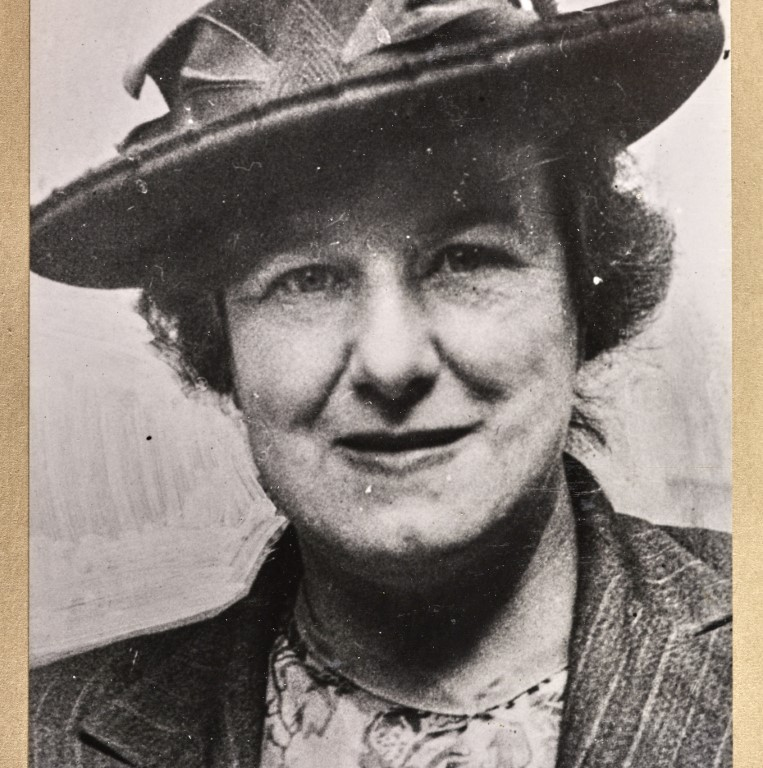 Mrs M W Nichol, Bradford, North. July 1945. © Parliamentary Archives, PHO/9/1/56/2
