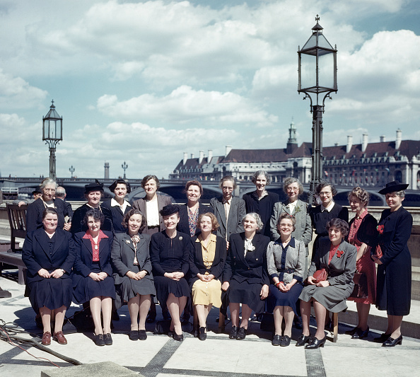 View of new Labour women MPs 1945